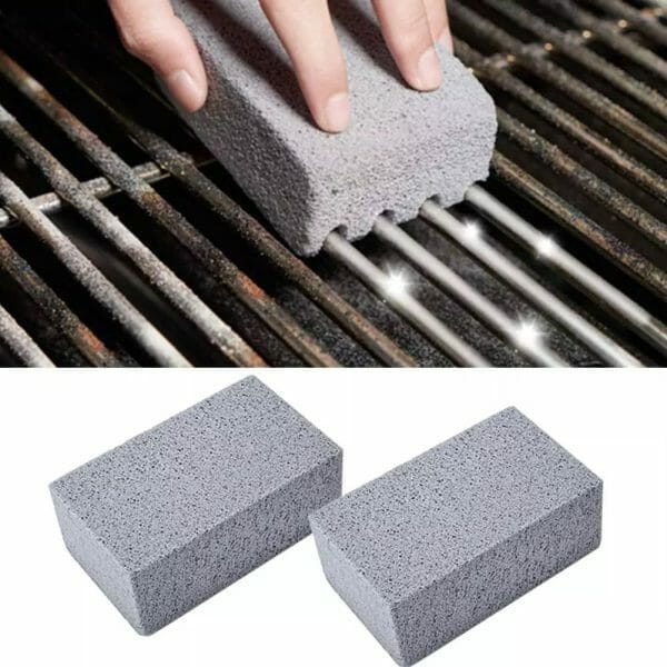 Grill Griddle Cleaning Brick Block (4 PCS)