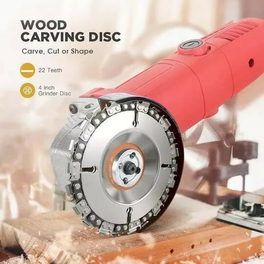 22 Teeth Saw Wood Angle Grinder Disc