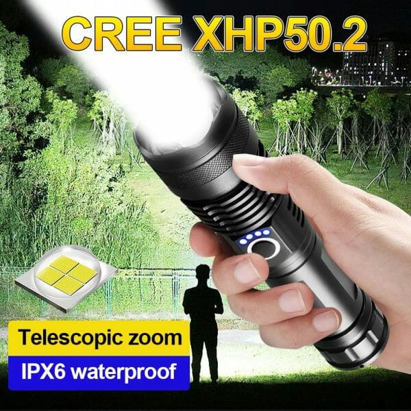 Water Proof Military Grade Flashlight