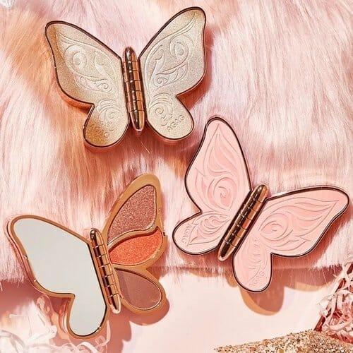 Eyeshadow palette butterfly