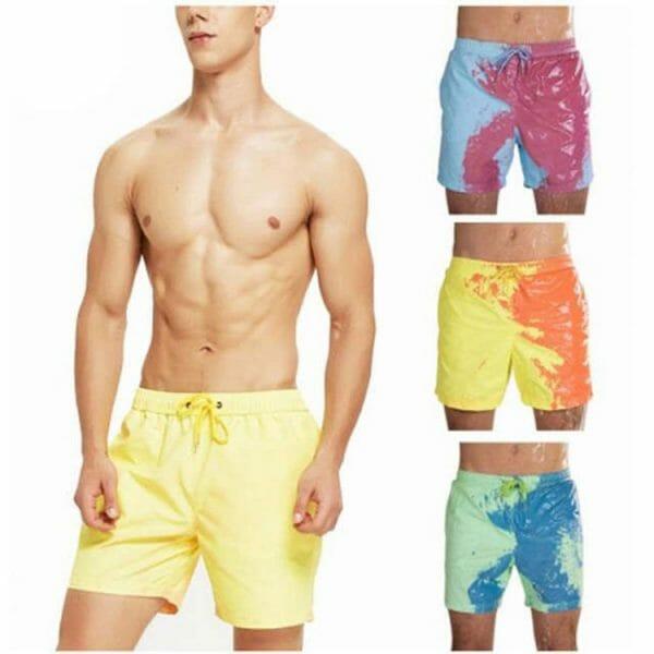 Color Changing Swim Shorts