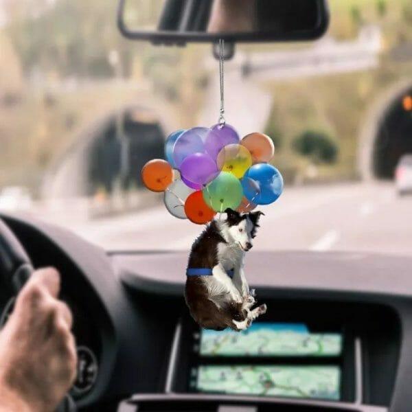 Dog Car Hanging Ornament