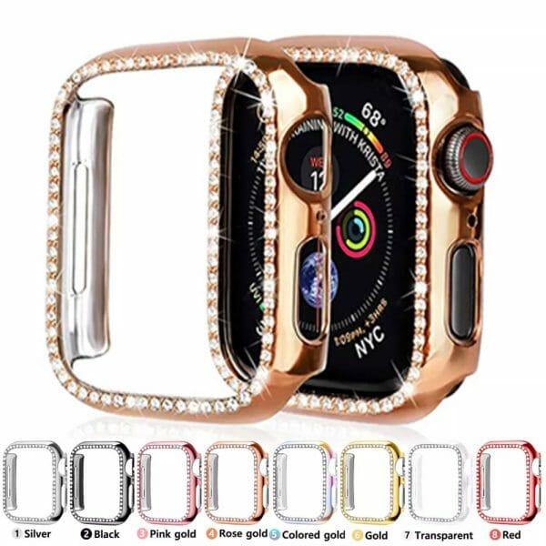 Diamond Apple Watch Case