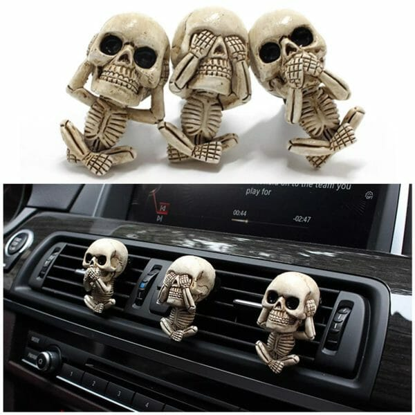 Evil Skull Trio Statue 3 Sets