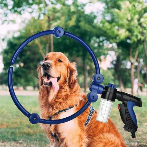 360 Degree Dog Shower Attachment