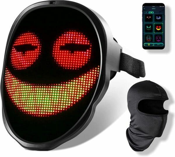 DIY Patterns LED Glowing Mask
