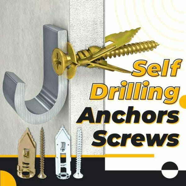 Self-Drilling Anchors Screws – 50PCS