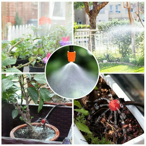 Mist Cooling Automatic Irrigation System-20M KIT