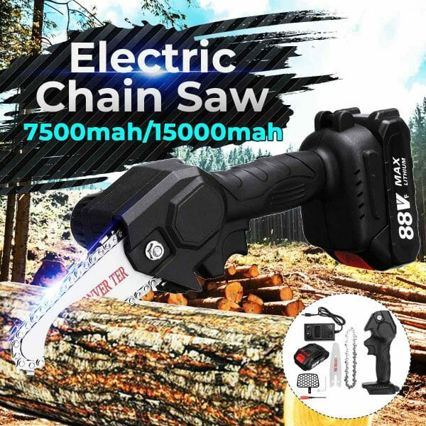 One-Hand Cordless Chainsaw