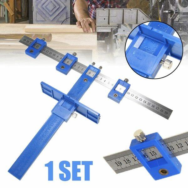 Drill Punch Locator Ruller Tool