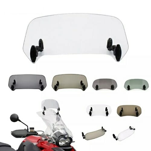 Motorcycle Windshield Extension