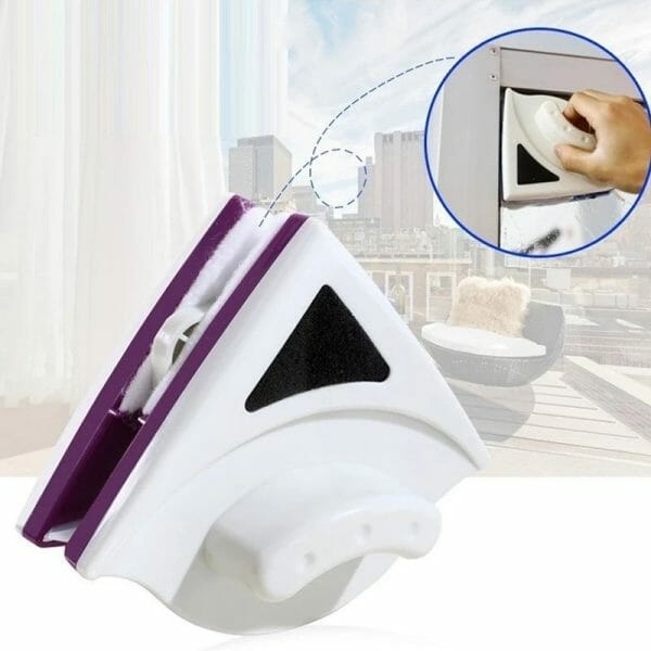 Double Side Magnetic Glass Cleaning Brush