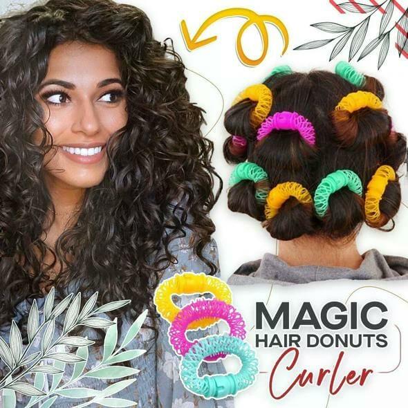 Magic Hair Curling Donuts