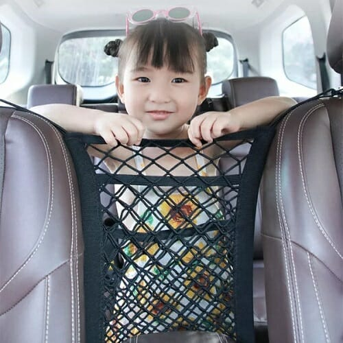 Carseat Handbag Net Pocket Holder