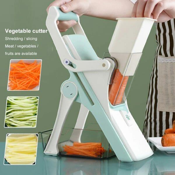 5 in 1 Mandoline – Safe Vegetables Slicer