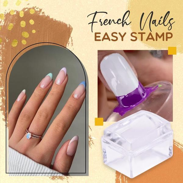 French Nail Easy Stamp