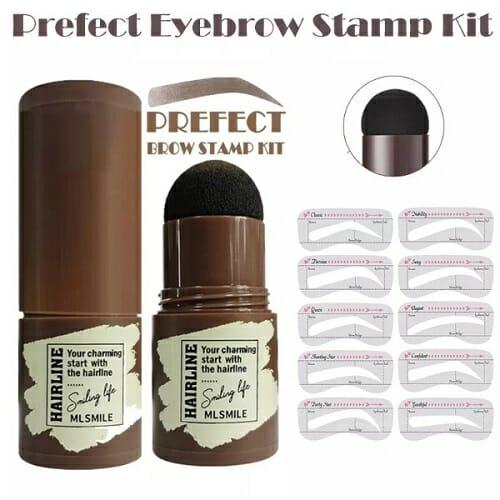 Prefect EyeBrow Stamp +6 Brow stencils