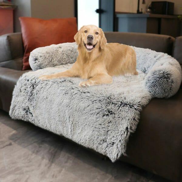 Calming Furniture Protector Pet Bed