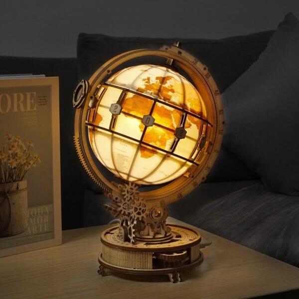 Luminous 3d Puzzle Globe