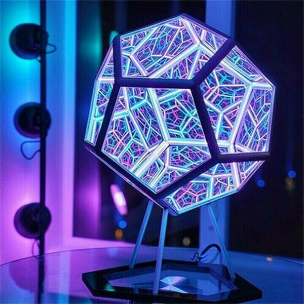 The InfiniteX Dodecahedron Color Art Light