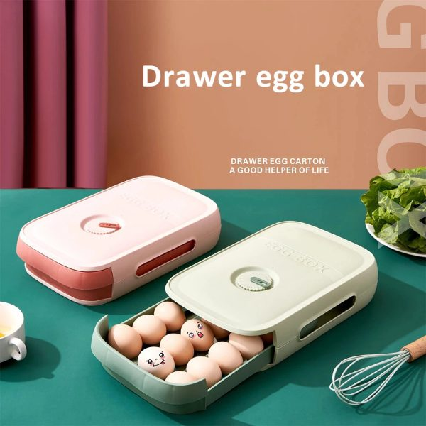 Eggs Drawer Storage Box