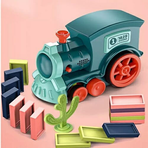 Domino Train Blocks Set