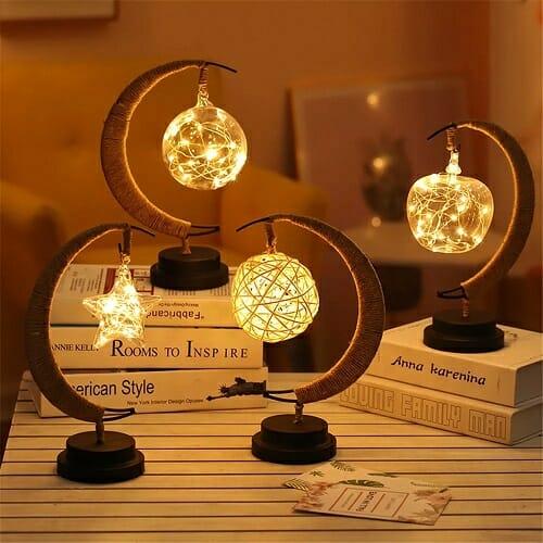 The Enchanted Lunar Lamp