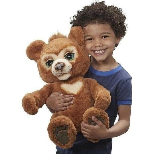 Curious Bear Interactive Plush Toy