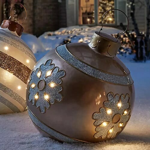 PVC Inflatable Christmas Decorated Ball